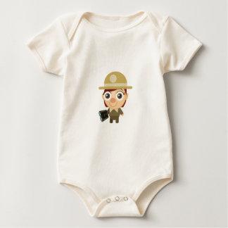 Female Ranger - My Conservation Park Baby Bodysuit