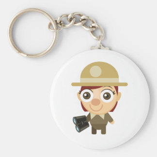 Female Ranger - My Conservation Park Keychain