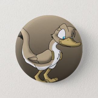 Female Reptilian Duck Button