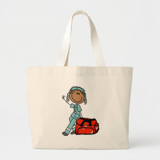 Female Respiratory Therapist or EMT Bags