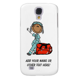 Female Respiratory Therapist or EMT Galaxy S4 Covers