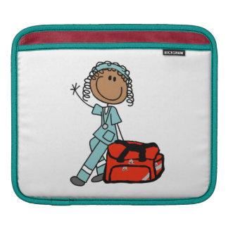 Female Respiratory Therapist or EMT iPad Sleeve