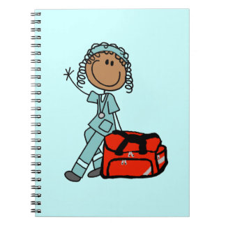 Female Respiratory Therapist or EMT Notebooks