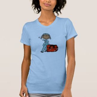 Female Respiratory Therapist or EMT T Shirts