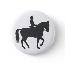 female riding horse  - Choose background color Button