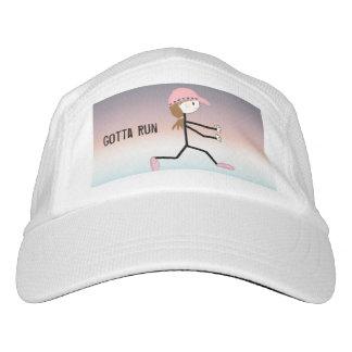 Female Runner, Gotta Run Headsweats Hat