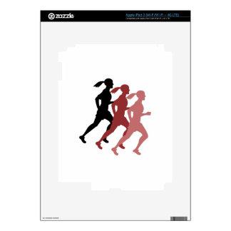 Female Runner iPad 3 Skins