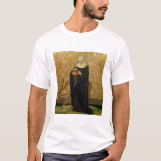 Female Saint with a Stag (oil on panel) T-Shirt