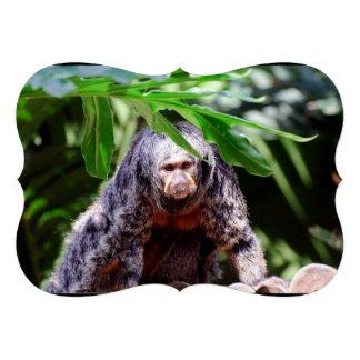 Female Saki Monkey Custom Invites