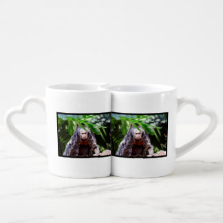 Female Saki Monkey Lovers Mug Sets