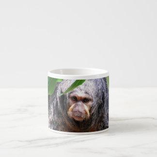 Female Saki Monkey Espresso Mug