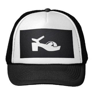 Female Sandals Pictograph Trucker Hat