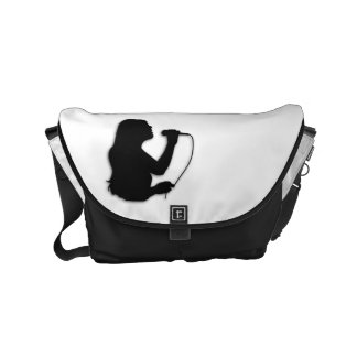 Female Singer Small Messenger Bag