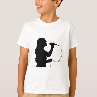 Female Singer T-Shirt