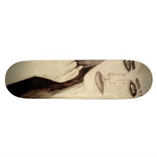 Female skateboard girl model deck art skateboards