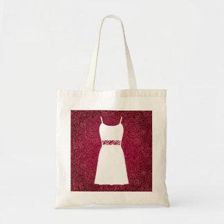 Female Sleevelesses Sign Budget Tote Bag