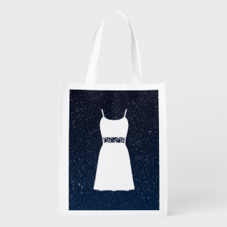 Female Sleevelesses Sign Grocery Bags