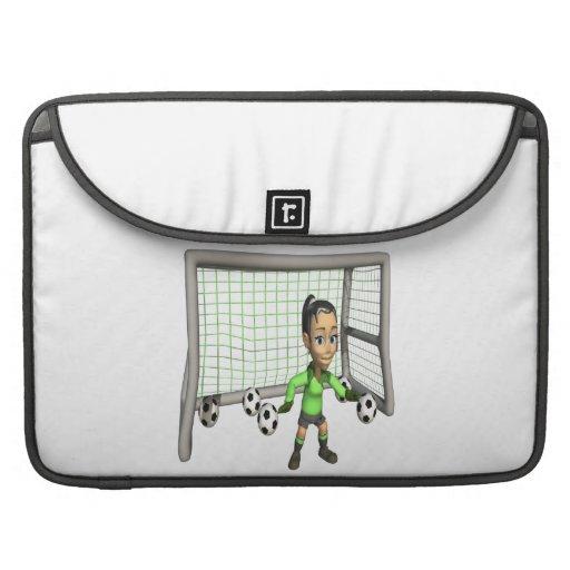 Female Soccer Goalie Sleeve For MacBooks