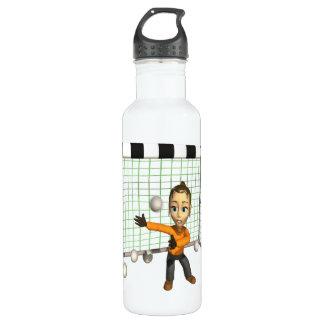 Female Soccer Goalie 24oz Water Bottle