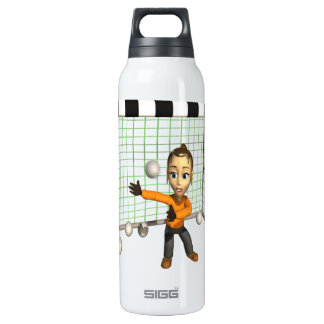 Female Soccer Goalie 16 Oz Insulated SIGG Thermos Water Bottle
