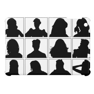 Female Social Network  Profile Picture iPad Case