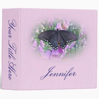 Female Spicebush Swallowtail Butterfly Binders