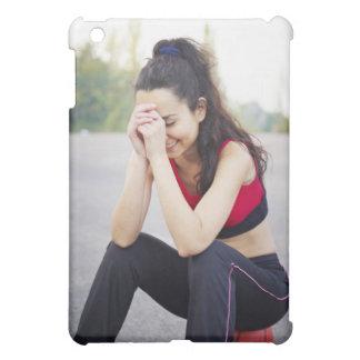 Female sports iPad mini cover