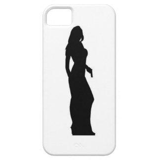 female spy agent iphone 5 case