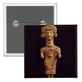 Female statuette on a plinth, Puig des Molins necr Button