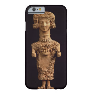 Female statuette on a plinth, Puig des Molins necr Barely There iPhone 6 Case