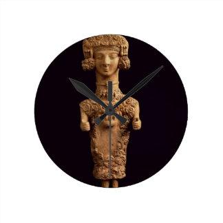 Female statuette on a plinth, Puig des Molins necr Clocks