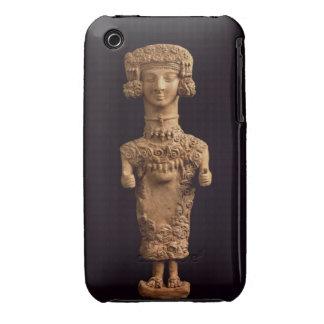 Female statuette on a plinth, Puig des Molins necr iPhone 3 Case-Mate Case