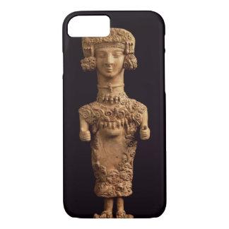 Female statuette on a plinth, Puig des Molins necr iPhone 7 Case