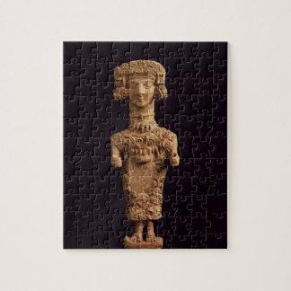 Female statuette on a plinth, Puig des Molins necr Jigsaw Puzzle