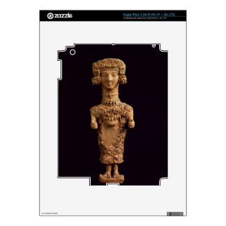 Female statuette on a plinth, Puig des Molins necr iPad 3 Skin