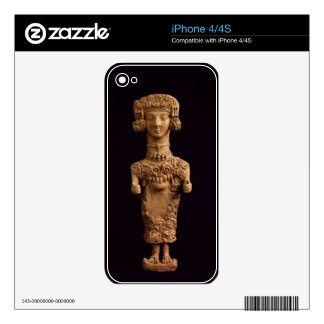 Female statuette on a plinth, Puig des Molins necr Skin For The iPhone 4