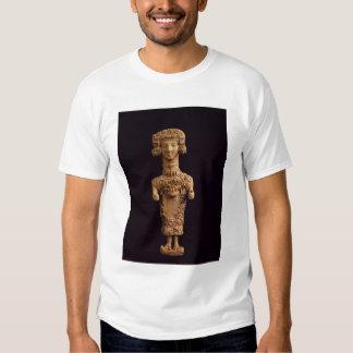 Female statuette on a plinth, Puig des Molins necr T-shirt
