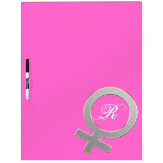 Female Symbol Board Template Dry Erase White Board