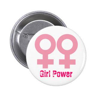 Female symbol 2 inch round button