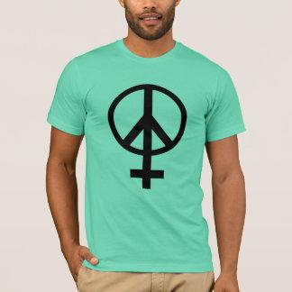 Female Symbol Peace Sign T-Shirt