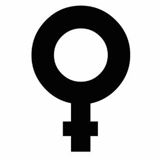 Female Symbol Photo Sculptures