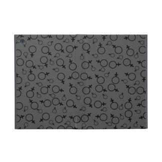 Female Symbol (Venus Symbol) Black on Dark Grey Case For iPad Mini