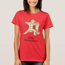 Female T-shirt Zero Distraction