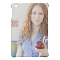 Female teacher at school cover for the iPad mini