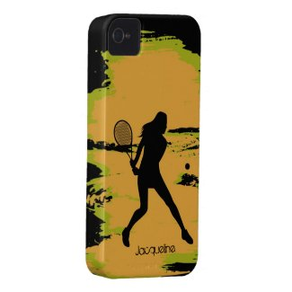 Female Tennis Player iPhone 4 Case
