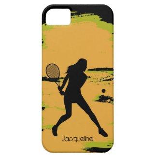 Female Tennis Player iPhone 5 Case