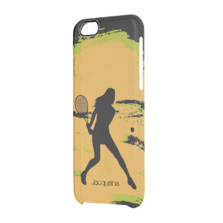 Female Tennis Player Uncommon Clearly™ Deflector iPhone 6 Case