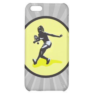 female tennis player case for iPhone 5C