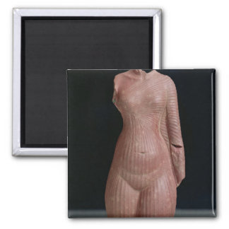 Female torso, probably Queen Nefertiti Refrigerator Magnet