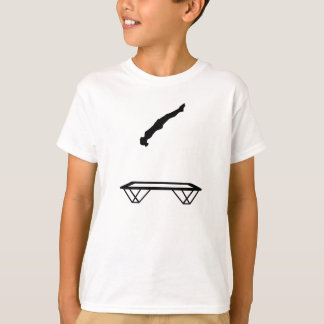 Female trampolinist T-Shirt